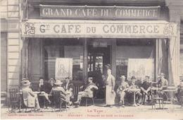 BACDEC19-  MAZAMET DANS LE TARN  TERRASSE DU CAFE DU COMMERCE - Mazamet
