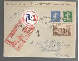 25376 - PARIS MARSEILLE Sans Surtaxe - Airmail