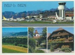 AK  Belp Bei Bern Mit Flughafen Airport - Aerodromi