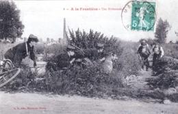 59 - Nord - MAUBEUGE - Douane - A La Frontiere - Une Embuscade - Maubeuge