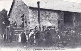 63 - Puy De Dome - MONTEL De GELAT - Entreprise De Battage J Boyer - Agriculture - Autres Communes