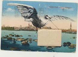 80-1240 Estonia Tallinn Reval Leporello Harbour Port 10 Small Pictures Are OK Postal History - Estonia