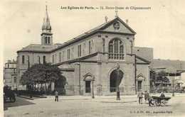 Les Eglises De Paris Notre Dame De Clignancourt  RV - Churches