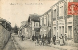 BOURAY BUREAU DE POSTE ET GRANDE RUE - Francia