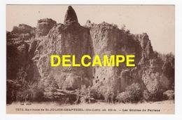 DD / 43 HAUTE LOIRE / SAINT-PIERRE-EYNAC / LES GROTTES DE PEYLENC - Francia
