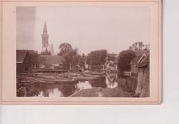 EDAM   NEDERLAND HOLLAND *- 16*10CM ALBUMEN Cabinet  Photograph - Old (before 1900)
