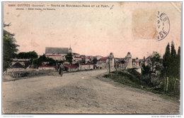 33 GUITRES - Route De Bordeaux Paris Et Le Pont - France