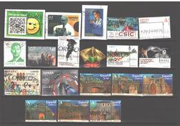 Spain 2000-2019 Used 19 Stamps - 1931-Aujourd'hui: II. République - ....Juan Carlos I