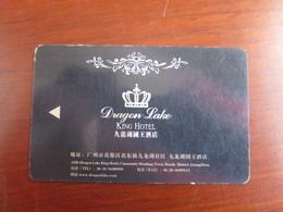 Dragon Lake King Hotel, China,edge Tiny Damaged - Cartas De Hotels