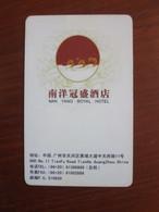 Nanyang Royal Hotel, China - Chiavi Elettroniche Di Alberghi