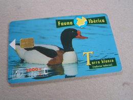 SPAIN Used Chipcard  Bird Duck - Espagne