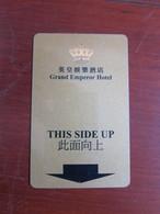 Grand Emperor Hotel, Hong Kong - Cartas De Hotels