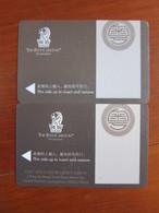 Ritz-Carlton Guangzhou, Two Different,edge Tiny Damaged - Cartas De Hotels