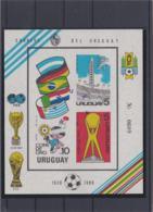 Uruguay 1980 Copa De Oro Souvenir Sheet MNH/** (H59) - Calcio