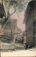 Cp Rue De Village Valaisan - VS Valais