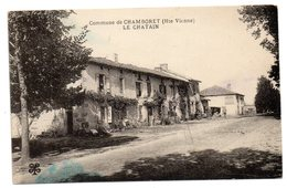 CPA        87    CHAMBORET      1930    LE CHATAIN - Sonstige Gemeinden