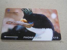 Falkland Islands Used GPT Card    Bird, King Cormorant  229CFKA - Isole Falkland
