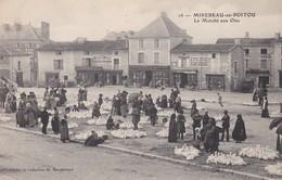 Cpa Dept 86 -mirebeau En Poitou - Le Marché Aux Oies  (voir Scan Recto-verso) - Mirebeau