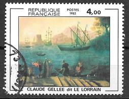 FRANCE 2211 Embarquement à Ostie Claude Gellée Dit Le Lorrain . - Oblitérés