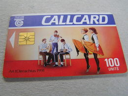 Used IRELAND Chipcard   Irish Dancing 1991 - Irlanda