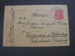 Henrich Chapelle 1920 Karte Nach Wassenberg , Heinsberg - Belgium