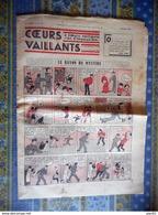 COEURS VAILLANTS 1936 N° 21 LE RAYON DU MYSTERE TINTIN ET MILOU En EXTREME ORIENT HERGE - Tintin