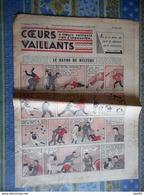 COEURS VAILLANTS 1936 N° 22 LE RAYON DU MYSTERE TINTIN ET MILOU En EXTREME ORIENT HERGE - Tintin