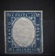 REGNO 1863 15 C. N.D. * GOMMA ORIGINALE - 1861-78 Victor Emmanuel II.