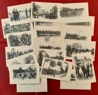 LOT 19 CPA MILITARIA MANOEUVRES De L'EST 1901 - Manoeuvres