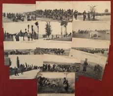 LOT 13 CPA MILITARIA MANOEUVRES Du CENTRE - 1908 - Manoeuvres