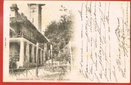 PARIS- Exposition De 1900- Trocadero-Le Dahomey-Original Cpa Voyagée En 1900 Vers TESCHEN SILESIE AUTRICHE - Mostre