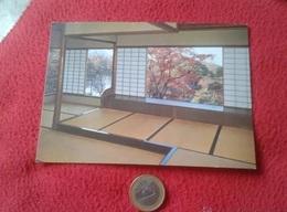 TARJETA POSTAL POST CARD JAPÓN JAPAN NIPPON KYUSUI-TEI PAVILION IN AUTUMN SHUGAKUIN IMPERIAL VILLA PABELLÓN SÁLA....VER - Sin Clasificación