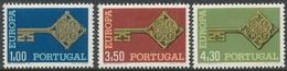 Portugal  1968 Yvertn° 1032-1034 *** MNH Cote 20 Euro  Europa Cept - Europa-CEPT