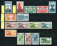 Gabón (Francés) 16 Sellos Nuevo/usado Cat.26€ - Gabon (1886-1936)
