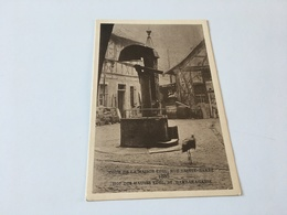 """AE - 5 - Le STRASBOURG Disparu - Cour De La Maison""""Edel"""" , Rue Sainte-Barbe 1885 - Strasbourg"""