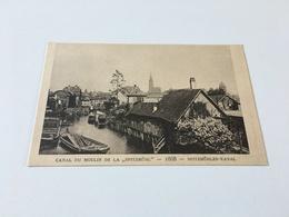 "AE - 5 - Le STRASBOURG Disparu - Canal Du Moulin De La ""Spitzmühl"" 1888 - Strasbourg"