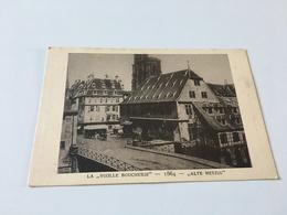 "AE - 5 - Le STRASBOURG Disparu - La ""Vieille Boucherie"" 1864 - Strasbourg"