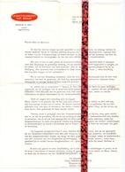 Pub Reclame - Brief Gemeentekrediet Aan Bevolking Maria Aalter - Agent Henri Vereecke - Roets - Ca 1960 - Publicités