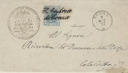 1877- S.Andrea Di Conza  - Collettoria - Prov. Di Avellino  - Aperta 1873 - 1861-78 Victor Emmanuel II.