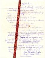 Pub Reclame - Brief Gemeentekrediet Aan Bevolking Maria Aalter - Agent Mw Vereecke - Roets - 1960 - Publicités