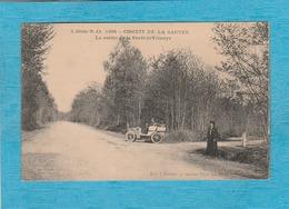 Circuit De La Sarthe, 1906. - La Sortie De La Forêt De Vibraye. - Vibraye