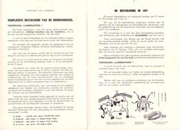 Brief Gemeente Aalter - Bestrijding Runderhorzel - 1957 - Oude Documenten