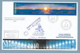 8 - Yvert 477 Du 21.6.2010 Course Du Soleil à Dumont D' Urville - MIDWINTER 2010 Et 60 ème Expédition. - Lettres & Documents