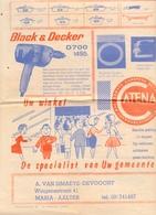Pub Reclame - Ijzerhandel A. Van Simaeys - Devooght - Maria Aalter Ca 1960 - Publicités