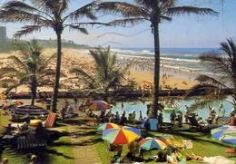 Margate Beach - Formato Grande Viaggiata – E 7 - Postkaarten