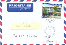 POLYNESIE FRANÇAISE : MAHAREPA-MOOREA - ILES-DU-VENT TàD 2-6-2003 - Cartas