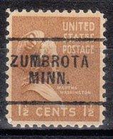 USA Precancel Vorausentwertung Preo, Locals Minnesota, Zumbrota 703 - Vereinigte Staaten