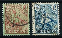 Guinea (Francesa) Nº 24/25 Usado Cat.25,50€ - Guinea Francesa (1892-1944)