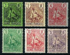 Guinea (Francesa) Nº 18/23 Nuevo* Cat.21€ - Nuevos
