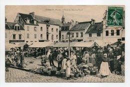 - CPA EVREUX (27) - Place Du Marché-Neuf 1910 (belle Animation) - Edition Des Nouvelles Galeries N° 39 - - Evreux